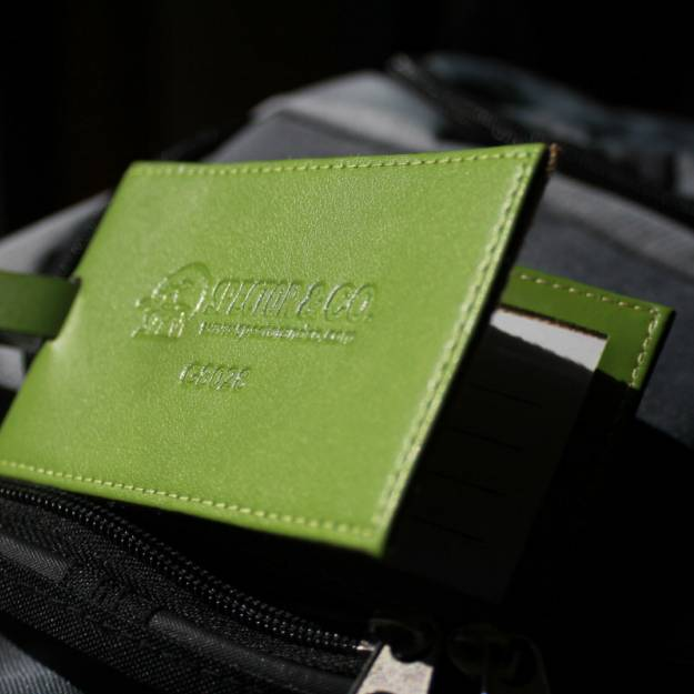 Kaye-Smith Branded Merchandise Promotional Products Leather Travel Tag branded merchandise & promotional products seattle